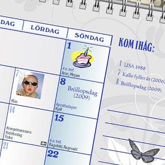 Kalendertips – återanvänd dina bemärkelsedagar från år till år