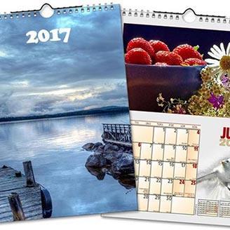 Kampanj på fotokalendrar och julkort